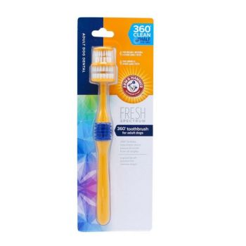 Toothbrush for Dogs: Arm & Hammer Fresh 360 Degree